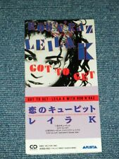 """LEILA K with ROB 'N' RAZ Japan Only1990 Tall 3"""" CD Single GOT TO GET"""