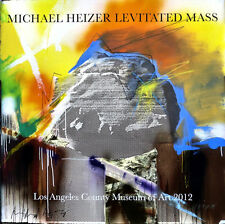 Michael HEIZER Signed Levitated Mass Los Angeles Museum Exhibition Poster