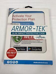 Ipad Air 2 9.7 Armor-Tek Military Spec Protective Clear Case