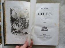 DERODE Victor / Histoire de Lille. Tome 3 / 1848 E.O.
