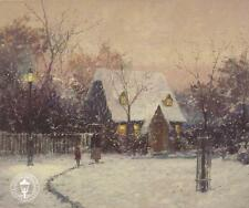 "Thomas Kinkade,""A WINTER'S COTTAGE""    NEW  Two (2)  Postcards   ***NEW***"