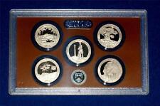 2013 S PROOF Quarter Set- FIVE Coins-No Box/COA-Gem Proof - IN STOCK