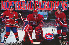 POSTER - NHL HOCKEY - MONTREAL CANADIANS 1997 STARS - FREE SHIPPING ! RW12 U