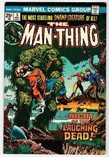 Marvel MAN-THING #5 - Ploog Cover & Art - VG May 1974 Vintage Comic