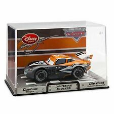 Disney Store Cars 2 Die Cast Collector Case Lightning McQueen Aviator Artist NEW