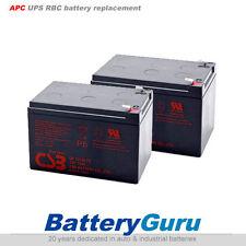 APC UPS RBC6 Replacement battery 2x CSB GP12120 F2 terminal