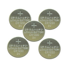 5PCS CR1220 Lithium Battery 3V Button Cell Watch Remote US Free Shipping PKCELL