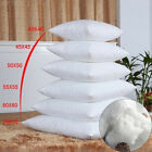 1X Cushion Pillow Inserts Premium Polyester Fibre Filling 8 Sizes Square HOME