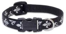 "Lupine LIFETIME GUARANTEE 1/2"" SILVER CHARM Adjustable Dog Collar Size 6"" - 9"""