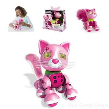 Zoomer Meowzies Robot Cat Toy Interactive Toys Cats Robotic Toys For Girls Kids