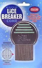 ==> LICE BREAKER COMB NIT FREE LICE COMB , UNIQUE MICRO GROOVED TEETH