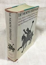 Le Morte d'Arthur Sir Thomas Mallory / Knight 1961 HC in 2 Volumes Bound as One