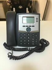 Lot of  5 x Cisco SPA 303G VoIP Phones with UK power supply. 3 Lines