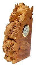 CHARLES ELKAN Timeless Treasures Birds-eye Maple Burl Clock