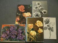 Lotto 50 Cartoline Fiori Colori, Bianco e Nero