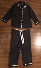 Gillian & O'Malley Women's Gray Pink Polka Dot Flannel PJ Pajama Set ~ Size XXl