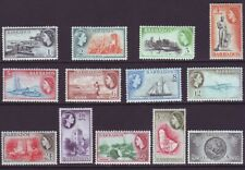 Barbados 1954 SC 235-247 MNH Set