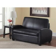 Sofa Bed Sleeper Sofabed Pull Out Couch Faux Leather Convertible Loveseat NEW!