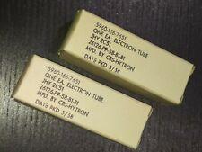 2C51 5670  396A Tube Valve       Lot de 2 pcs       CBS-HYTRON YEAR 1958