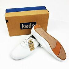 Keds Champion Canvas WF34000 White Comfort Shoes Women's Size 7 1/2 New in Box