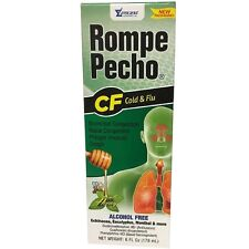 Rompe Pecho CF Cough - Flu Syrup With Honey, 6 oz