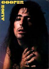 ALICE COOPER 1977 GUILTY TOUR CONCERT PROGRAM BOOK / EX 2 NMT
