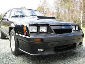 Fits 83-86 Mustang Capri Xenon Urethane Front Bumper Lower Air Dam Valance 3129