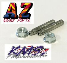Suzuki LTR450 LTR 450 ARP KMS Stronger Heavy Duty Exhaust Head Pipe Studs Bolts
