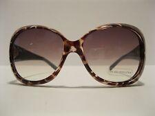 Sunglasses Designer Inspired Tint UV 400 Brown Blue LARGE Cat Eye Frame NWT L15