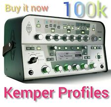 ✨ 100000 Kemper Profiles files 🎸🎸🎸ZIP ARCHIVE to your 📩 EMAIL