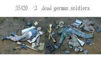 1/35 Resin Fallen German Soldiers 3 Dead Figures unpainted unassembled 35420-1