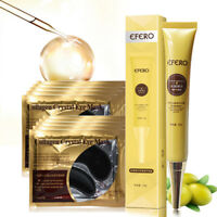EFERO Eye Cream Firming + Collagen Crystal Eye Mask Gel Eye Patches for Eye Bags