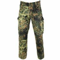 Genuine German army issue flecktarn pants field combat camo military trousers