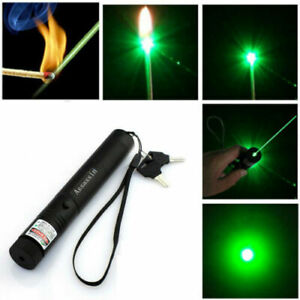 New Powerful 900Miles 532nm Green Laser Pointer Pen Astronomy Visible Beam Light