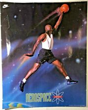 Vintage NIKE Michael JORDAN AEROSPACE Poster 1993 Basketball 85337 16X20