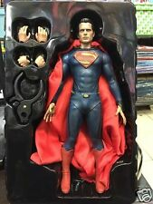 MARVEL UNIVERSE MAN OF STEEL SUPERMAN HENRY CAVILL 1/6 ACTION FIGURE NEW IN BOX
