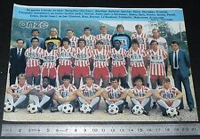 CLIPPING POSTER FOOTBALL 1986-1987 D2 AS CANNES ASC LA BOCCA