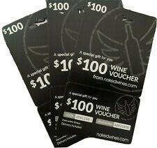 $100 Naked Wine Vouchers/ I Get With Other Online Purchases And Don't Drink
