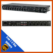 "Pulse RMX112 12 Channel Mic/Line Audio Mixer - 19"" Rack Mount 1u"