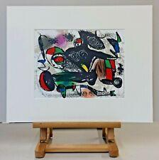 Joan MIRO (1893-1983) Original Lithographie 1981 - #1258 - 1von150 Ex. auf Rives