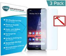 """3 x Slabo PREMIUM Panzerglasfolie für Nokia 3.2 KLAR """"Tempered Glass"""" 9H"""