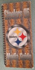 1995 PITTSBURGH STEELERS Media Guide Bruener Kordell Stewart rookies BILL COWHER