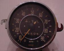 Vintage VW Volkswagen Bug Beetle Ghia Type 1 Speedometer Fuel Gas Gauge 68-71