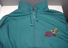 Used Mens Port Authority Club Orleans Windbreaker Jacket Rain Aqua XL Coat Nike
