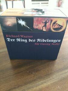 Richard Wagner Der Ring des Nibelungen Sir Georg Solti 14 Disc Set