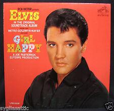 ELVIS PRESLEY-GIRL HAPPY-Scarce Album From 1965-RCA VICTOR #LPM 3338-Rockabilly