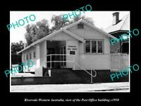 OLD LARGE HISTORIC PHOTO OF RIVERVALE WESTERN AUSTRALIA, THE POST OFFICE c1950