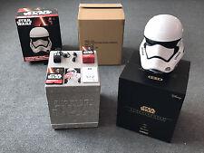 Disney Star Wars EP 7 Stormtrooper Head White 1:1 Bluetooth Speaker CAMINO