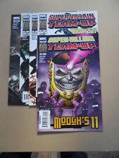 Super -Villain  Team - Up / Modock's 11 . Lot Complet . Marvel 2007 VF - minus