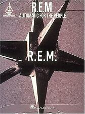 R. E. M. : Automatic for the People (1994, Paperback)  OOP New Old Stock